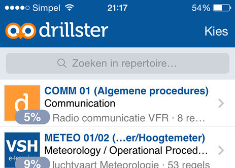 PPL e-learning Vliegschool Hilversum